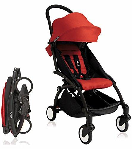Babyzen YoYo Stroller Bundle Yoyo Stroller, Canopy Newborn Pack Red
