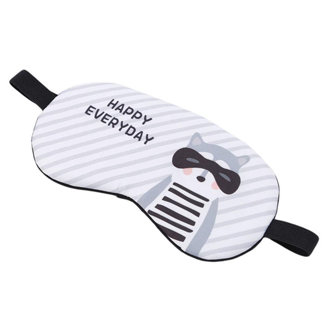 LZIYAN Cartoon Sleep Eye Mask Breathable Cute Animal Pattern Sleeping Mask Travel Sleeping Blindfold Nap Cover Gift For Everyone,Fox by LZIYAN (Image #3)