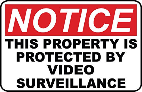 2 - Video Surveillance..SECURITY SIGNS- #PS-401 from Great American Signs