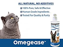 Omegease Omega 3, 6 & 9 Fish Oil for Dogs and Cats, 32 oz