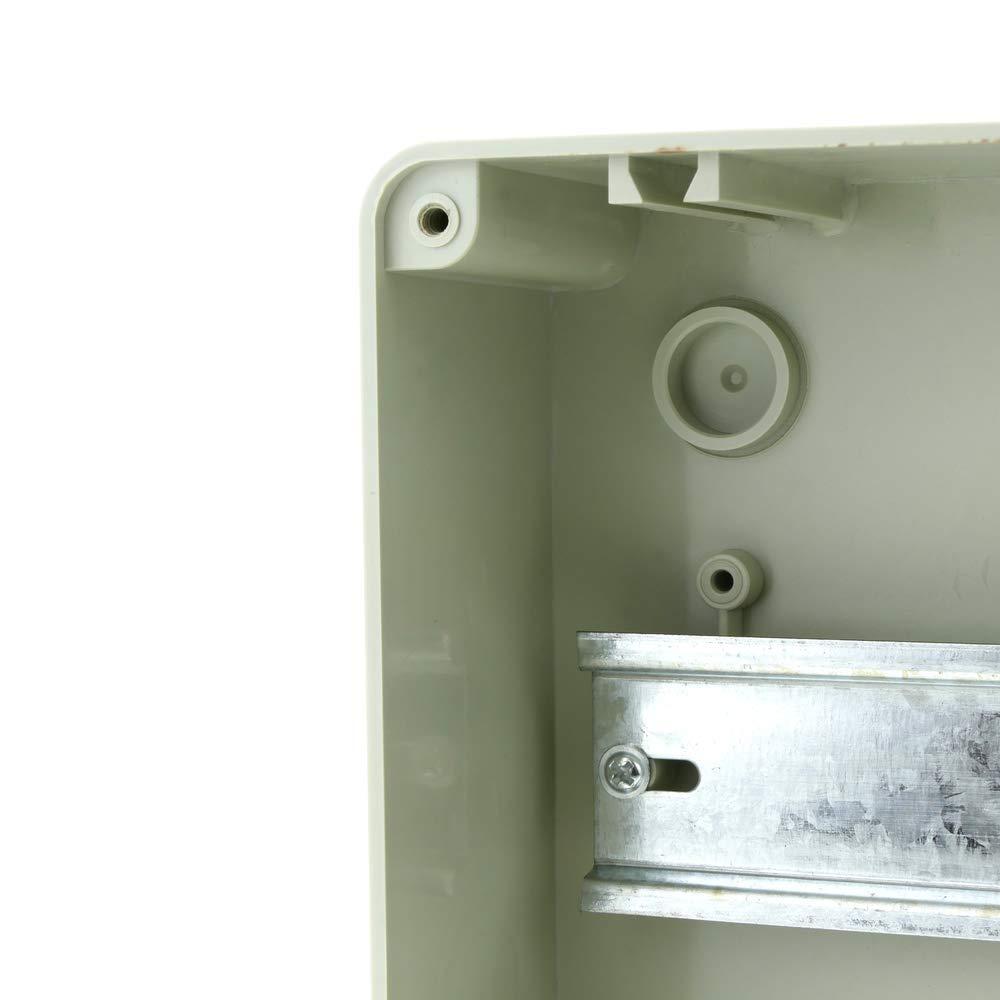 Bo/îte /électrique SPN 8M IP65 ABS HT de surface en plastique BeMatik