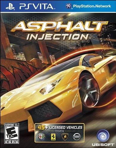 Asphalt: Injection - PlayStation Vita (Psp Racing Games With Best Graphics)
