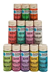 Martha stewart crafts multi surface glitter for Martha stewart crafts spray paint kit