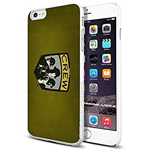 diy zhengSoccer MLS THE COLUMBUS CREW SOCCER CLUB FOOTBALL FC,Cool Ipod Touch 5 5th Smartphone Case Cover Collector iphone TPU Rubber Case White