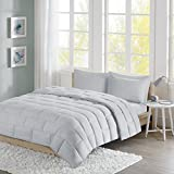 Intelligent Design ID10-870 Avery Seersucker Down Alternative Comforter Mini Set King Grey,King