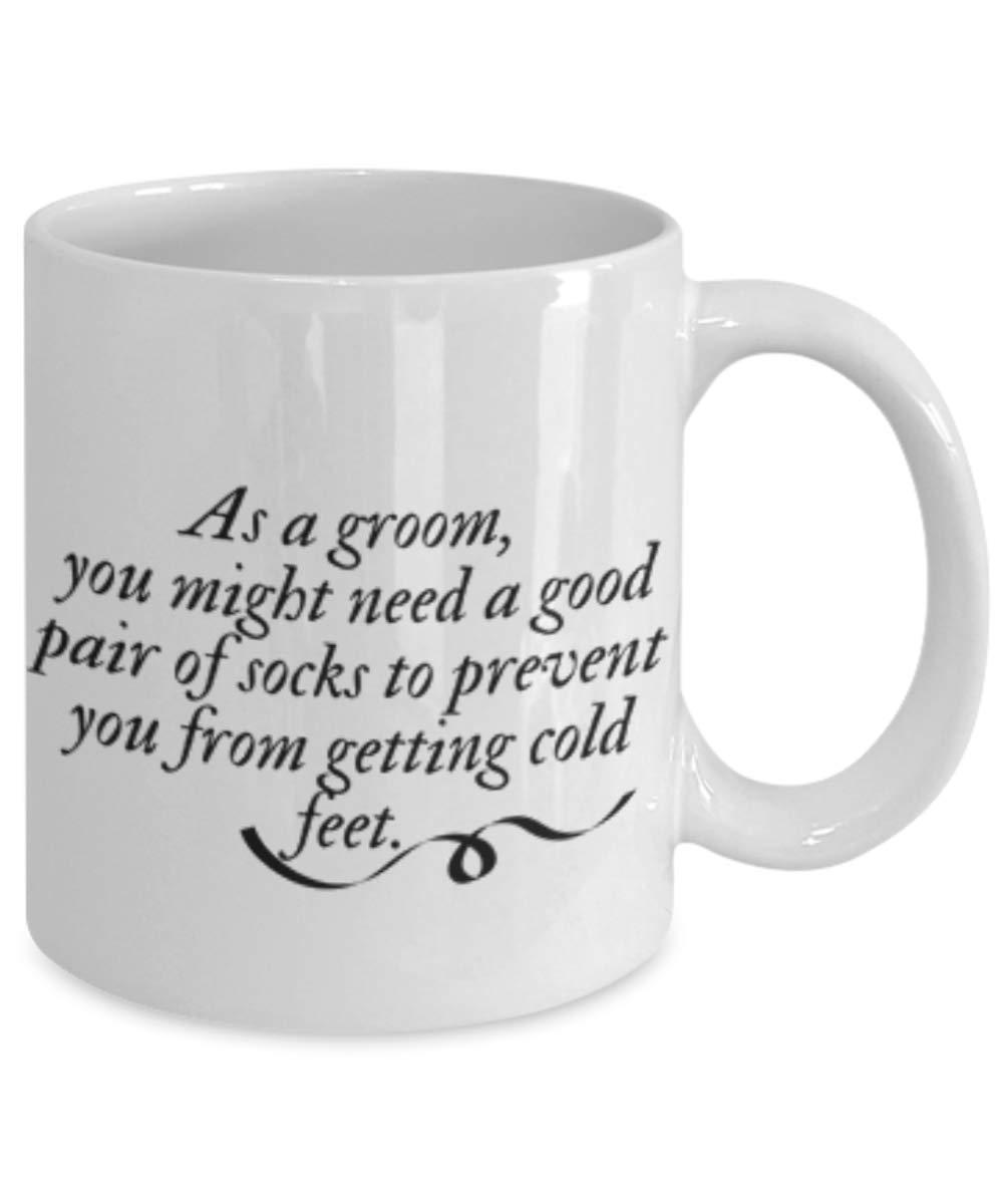 Amazon Coffee Mug Wedding Quotes Grooms Cold Feet Kitchen