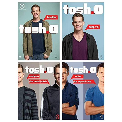 Tosh.0: Complete Volumes 1-4 DVD Collection (Hoodies / Deep V's / Cardigans Plus Casual Jackets / Collas Plus Exposed Arms) (Hoodies Film Tv)