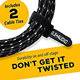 GLS Audio Instrument Cable - 1/4 Inch TS to 1/4