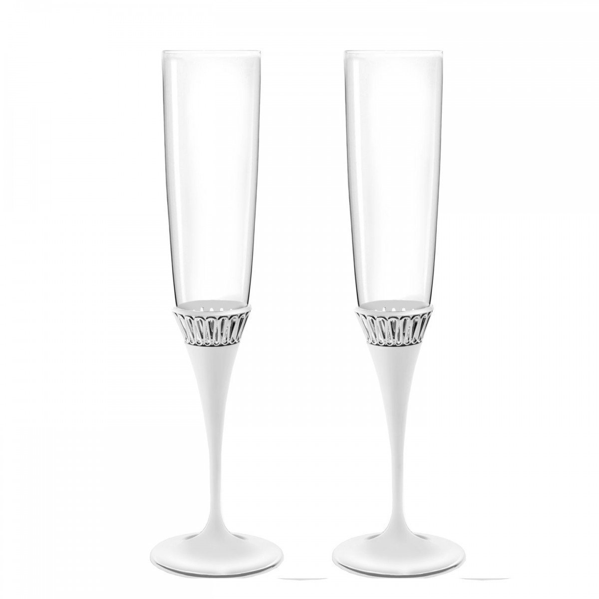Waterford Monique Lhuillier Opulence Toasting Flutes Pair