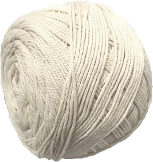 AllRing 7205000 – Hilo para Cadena, número, Blanco, 9,220 m, 100% algodón para tensar Marcos: Amazon.es: Juguetes y juegos