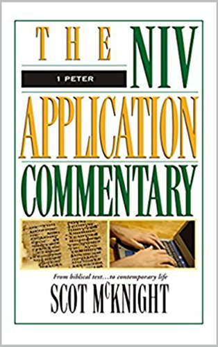Download for free 1 Peter-The NIV Application Commentary