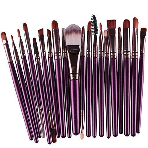 Han Shi Makeup Brush Set, 2017 Fashion 20 pcs 20pcs Make up Brushes Kits Toiletry Kit Clearance(Purple, M)