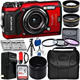 Olympus Waterproof Tough TG-5 Digital Camera (Red) with SanDisk Ultra 64GB...