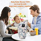 QUERLY Baby Bottle warmer cover, Portable Car