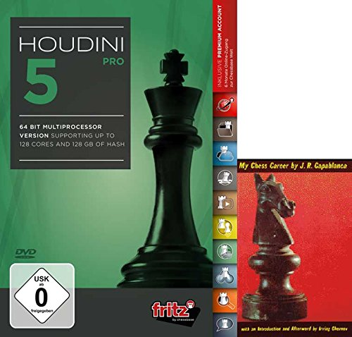 Houdini Playing Software Program Capablancas product image