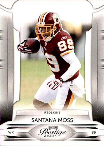 2009 Miami Hurricanes Football - 2009 Playoff Prestige #99 Santana Moss WASHINGTON REDSKINS MIAMI HURRICANES NFL Football Card