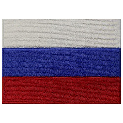 National Russian Costumes (Russia Flag Embroidered Emblem Russian Federation Iron On Sew On National Patch)