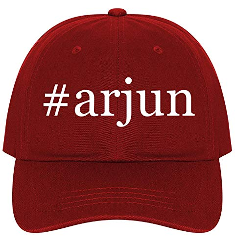 #Arjun - A Nice Comfortable Adjustable Hashtag Dad Hat Cap, Red