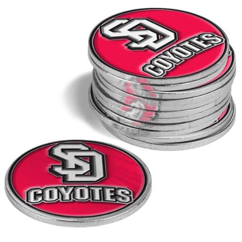 Dakota South Golf Ball (South Dakota Coyotes Golf Ball Markers (4 Pack))