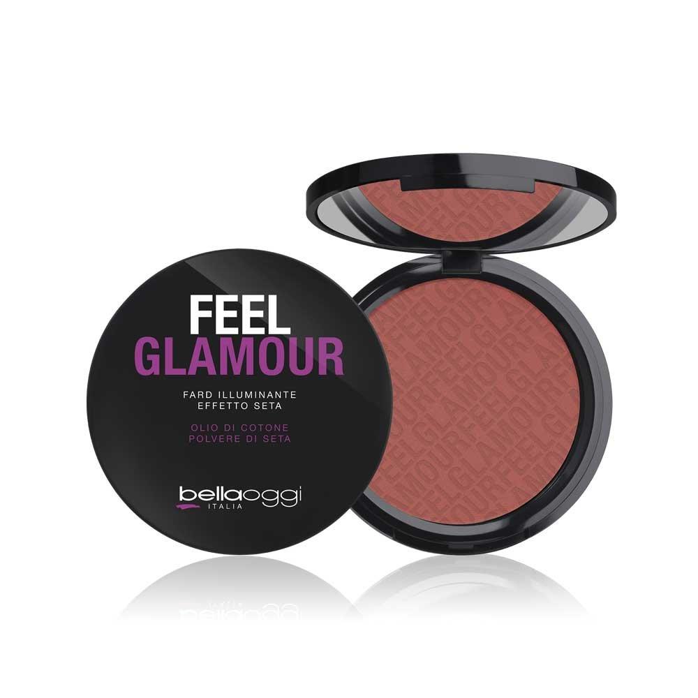 Bellaoggi : Feel Glamour Fard Comaptto : Berry Pink