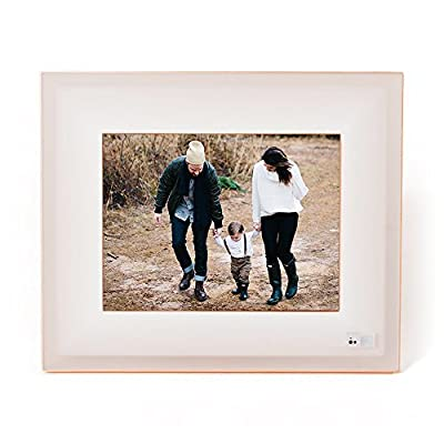 Aura Smart Photo Frame - Beautifully Designed, With Super Easy To Use Connected App