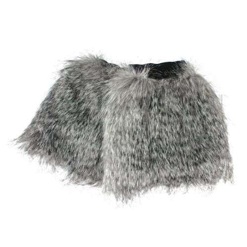 Come Short Fur Beinstulpen Stiefelstulpen Irregular Snuggle Choice Aus Pelzimitat Warmer wqB8gSAHW