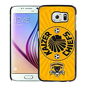 Beautiful And Fashional Designed Cover Case For Samsung Galaxy S6 With Kaizer Chiefs Black Phone Case 2