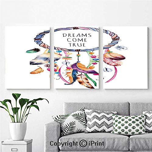 Modern Gallery Wrapped Canvas Print Ethnic and
