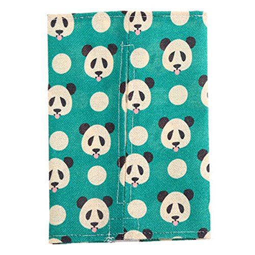 VIPASNAM-1PC Cartoon Animal Cotton Tissue Box Napkin Cover Bags Holder Paper Towel Case(color:panda gb-2138)