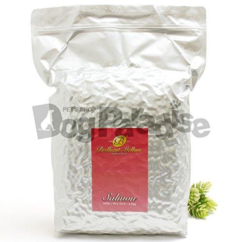 ビッグウッド ブリリアントメロウ ドライフード サーモン中粒 10kg(2.5kg×4) B015QS4ZEC
