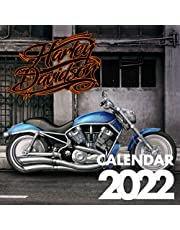 Harley-Davidson Calendar 2022-2023: calendar with 12 Months & 12 Colorful Photos