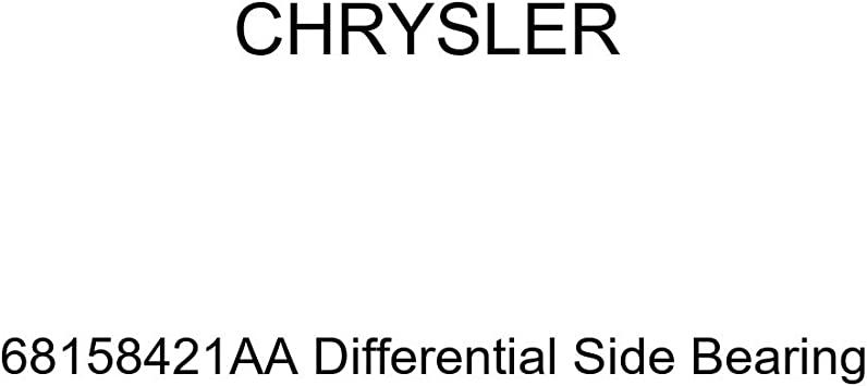 Genuine Chrysler 68158421AA Differential Side Bearing