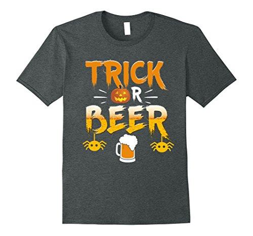 Trick Or Beer Funny Halloween Tee