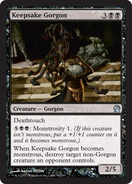 Amazon.com: Magic: the Gathering - Keepsake Gorgon (91/249 ...