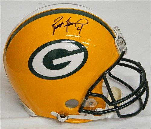 Brett Favre Autographed/Hand Signed Green Bay Packers Riddell Pro