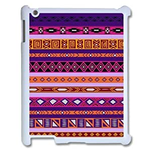 3D Pharrel Pattern 6 Case For IPad 2,3,4 2D Cute Protective, Ipad Case Hard Cheap For Boys With White