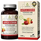Cheap Isle Revive Premium Apple Cider Vinegar Pills – 1300mg Natural Dietary Supplement for Digestive Function, Appetite Suppression and Metabolism Booster (60 Capsules, 30 Day Supply)