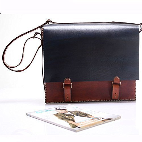 Leather Handmade Unisex Messenger Bag