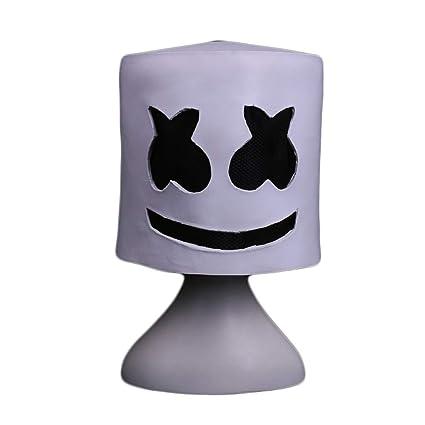 Jdskk Máscara de látex de Halloween, Juego de Terror Tema Scary Mask Adult