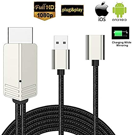 Kompatibel Mit Iphone Ipad Android Smartphone Zu Hdmi Elektronik