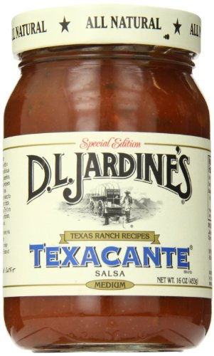 D.L. Jardine's Texacante Salsa, Medium, 16 oz