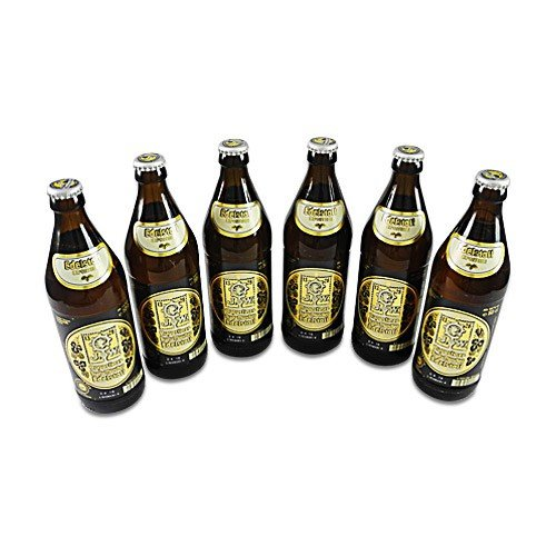 Augustinerbräu - Edelstoff Exportbier (6 Flaschen à 0,5 l / 5,6 % vol.)