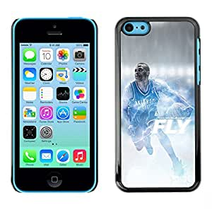 BasketCase Russell Westbrook Flight Basketball Apple Iphone 5C / / Prima Delgada SLIM Casa Carcasa Funda Case Bandera Cover Armor Shell
