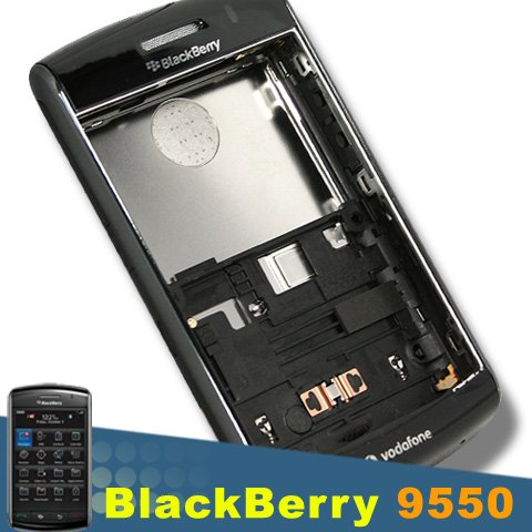 Cover Blackberry Storm Battery - ORIGINAL BLACKBERRY STORM 2 II 9550 FULL HOUSING COVER REPLACE with METAL BATTERY DOOR