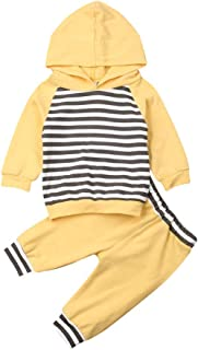 MA/&BABY Newborn Baby Girls Hand-Painting Heart Tops Hoodies Pants 2Pcs Outfits Clothes Set