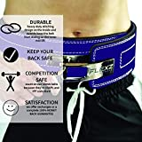 Weight Lifting and Powerlifting Belt - Fitness Belt & Back Support Belt