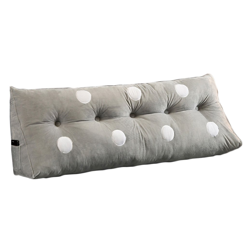 Lumbar Pillows Bed Pillows Positioners Cushion Living Room Sofa Large backrest, Large Cushion Pillows on Double Bed, Crystal Velvet Bed Pillows Removable and Washable Tatami