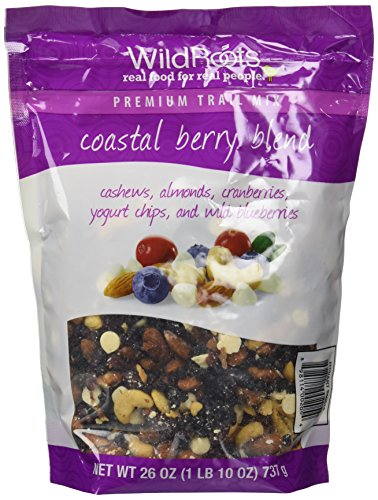 Wild Roots 100% Natural Trail Mix Coastal Berry Blend (26 Oz) (Blueberry Yogurt Covered Raisins)