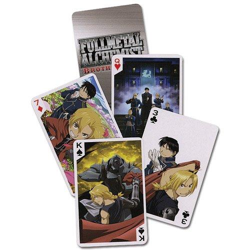 Full Metal Alchemist Brotherhood Playing Cards