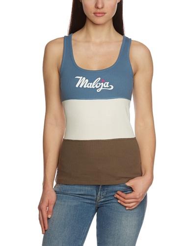 Maloja Top Samimam - Camiseta, color multicolor, talla L multicolor